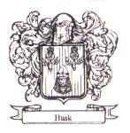 Husk coat of arms, family crest