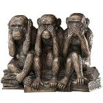 Hear no evil, see no evil, speak no evil - Charles Darwin, On the Origin of Species - Evolution